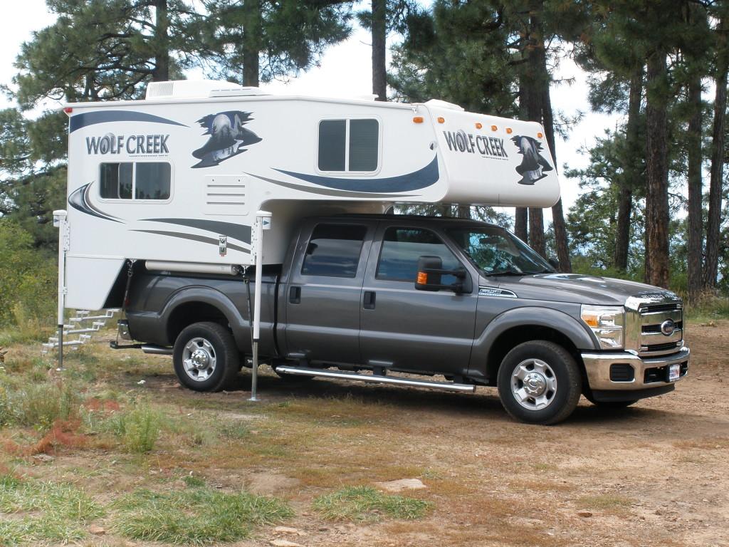 Half Ton Truck >> Review of the Wolf Creek 850 Truck Camper – Truck Camper Adventure