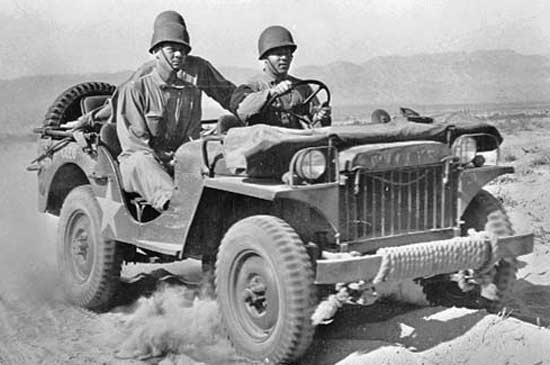 Jeep throug history