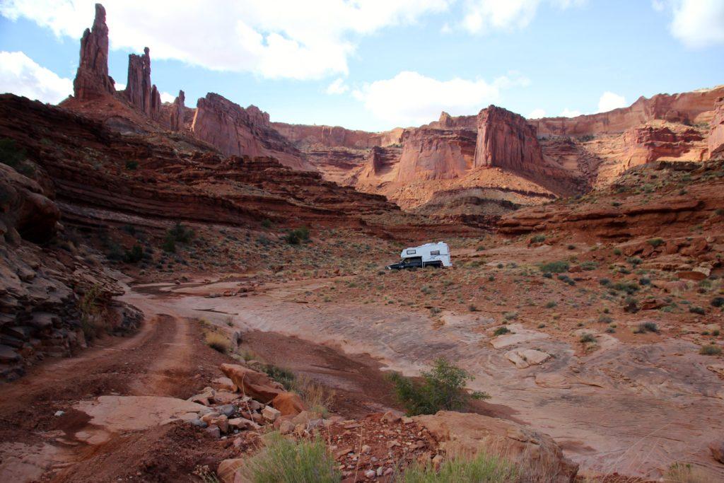 White Rim Trail - Truck Camper Adventure