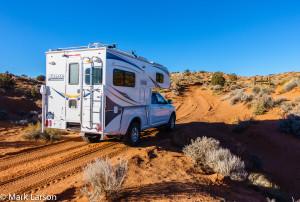 Mark Larsen_Lance 865 Truck Camper near Page, AZ