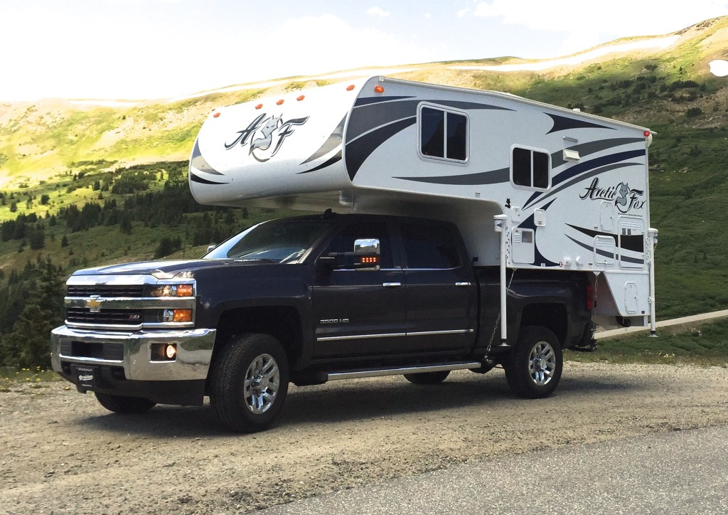 Review of the 2015 Arctic Fox 811 Truck Camper   Truck ...