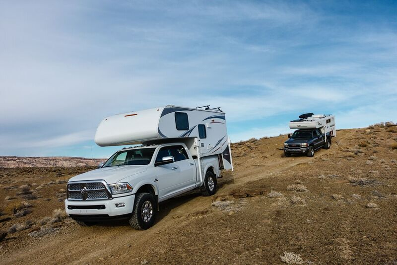 Overland Expedition Truck Campers - Lance 865 and Outfitter Apex 8