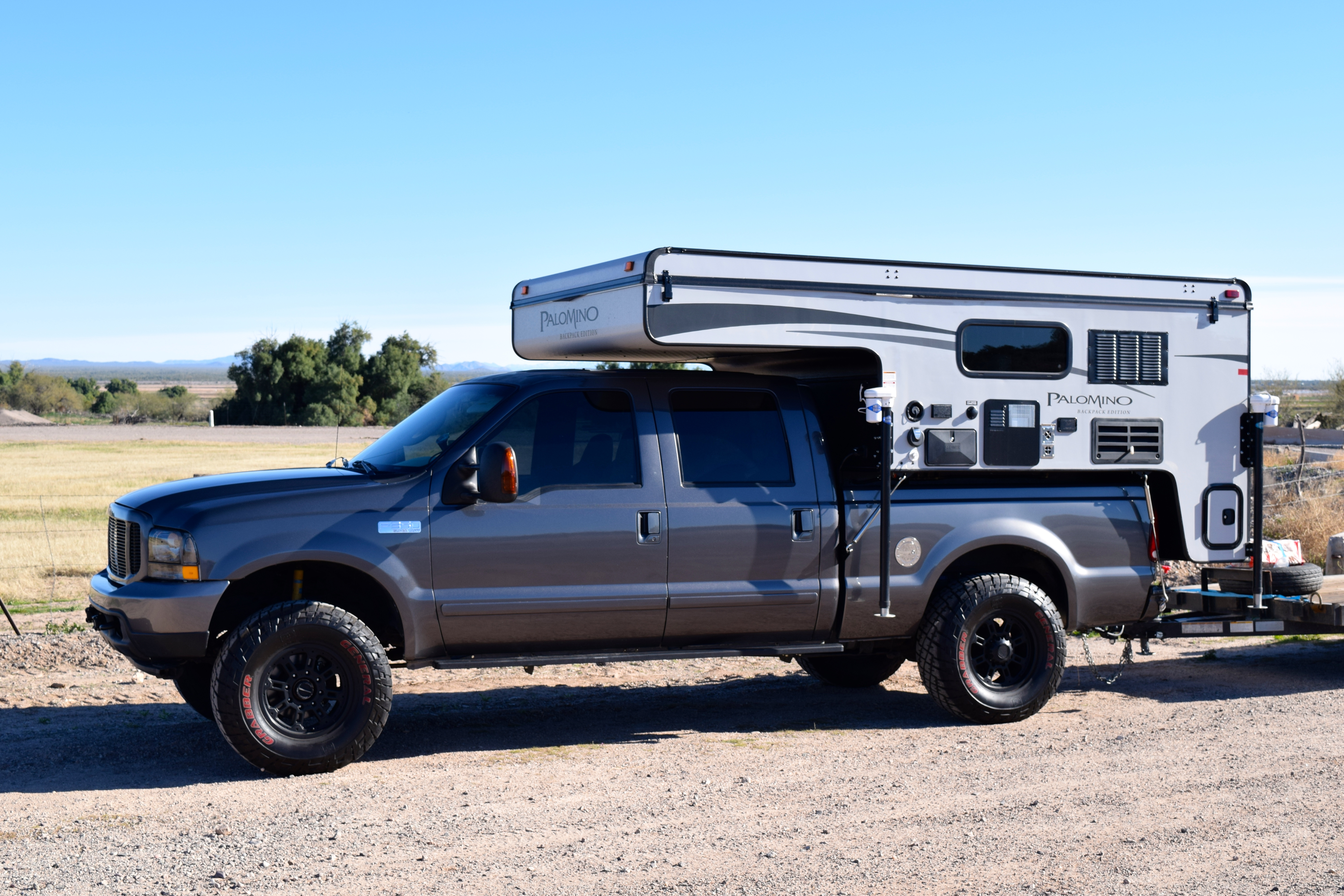 2003 Ford F350 Diesel >> In the Spotlight: The 2016 Palomino 1251 Backpack Edition ...