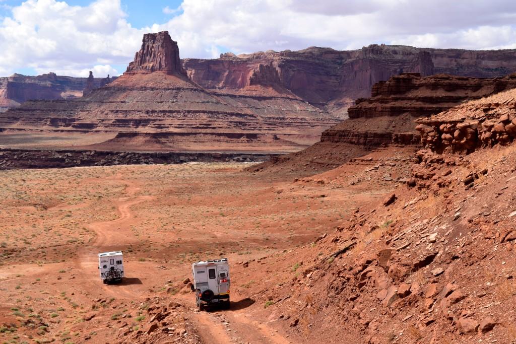 White Rim Trail - Truck Camper Adventure -