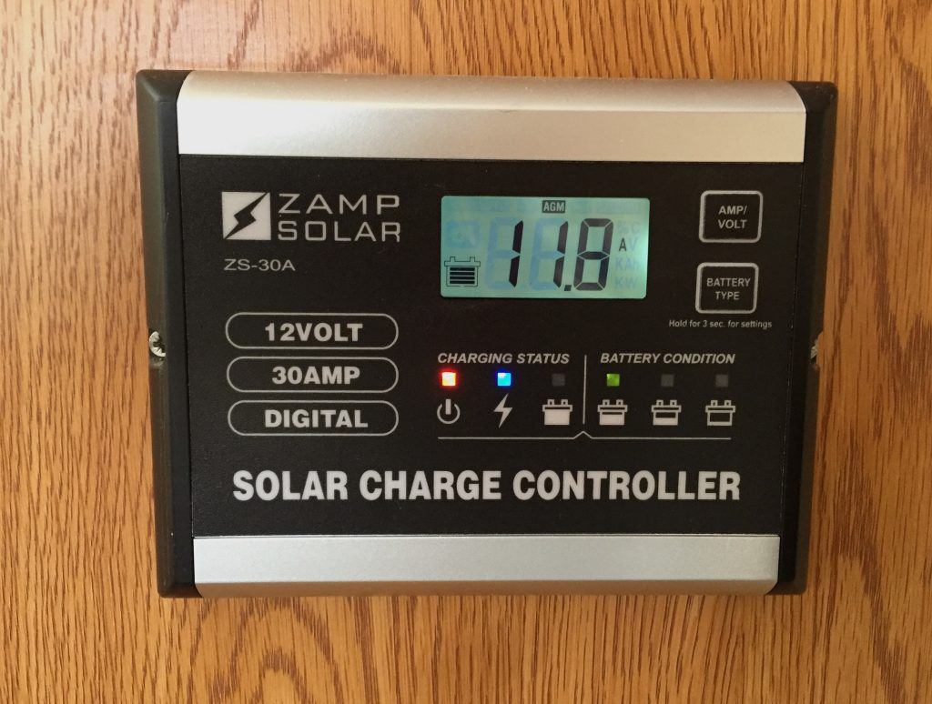 Review Of The Zamp Zs 30a Solar Charge Controller Truck