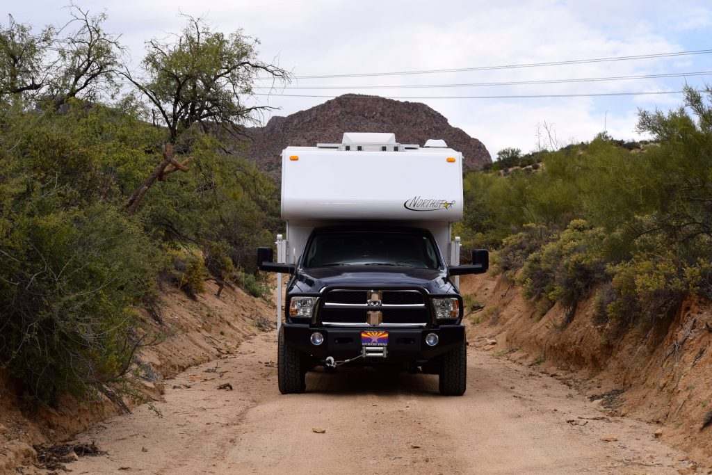 Ram 3500, Northstar Laredo, White Canyon, AZ - Truck Camper Adventure