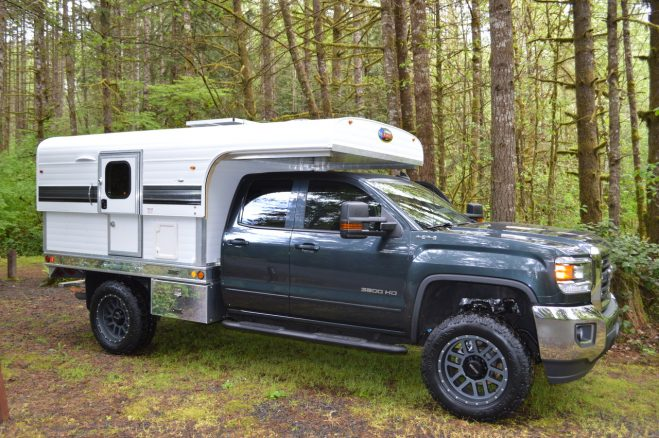 Lightweight Flatbed Truck Campers From Pop Up Truck Campers To