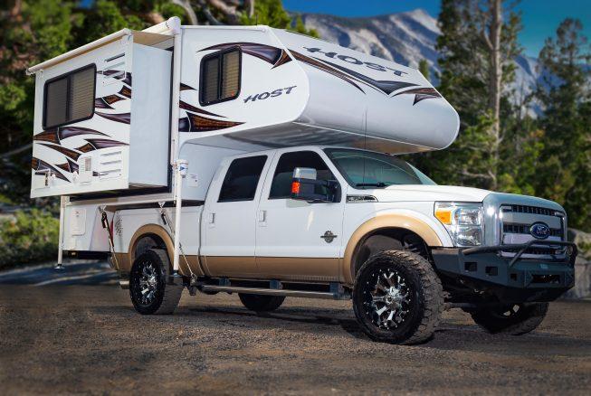 Host Releases Tahoe Short Bed Double Slide Truck Camper