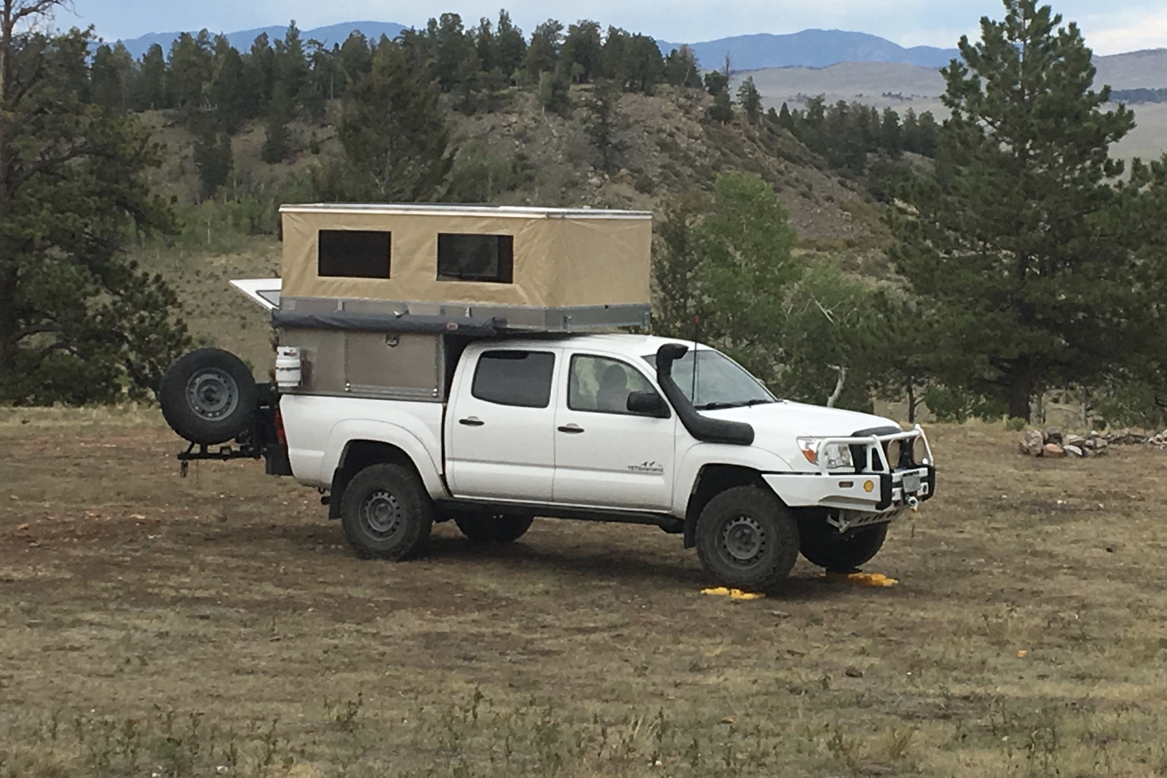 Ovrlnd Campers Releases First Pop Up Truck Topper Truck Camper Adventure