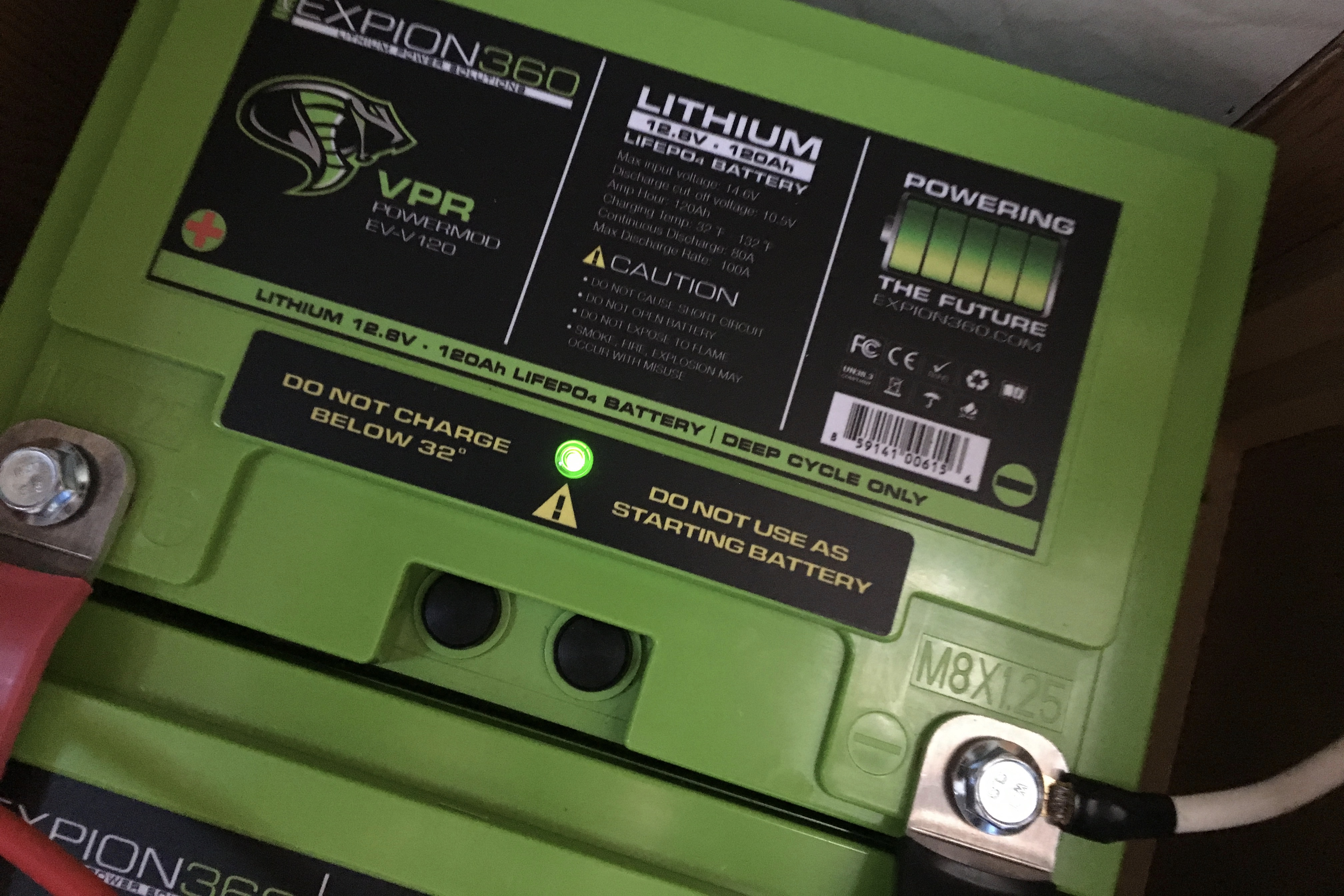 Review Of The Expion360 Vpr Powermod Lithium Rv Battery Truck Camper Adventure