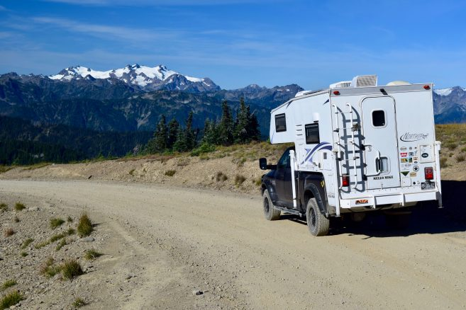Olympic National Park's Obstruction Point Road | Truck