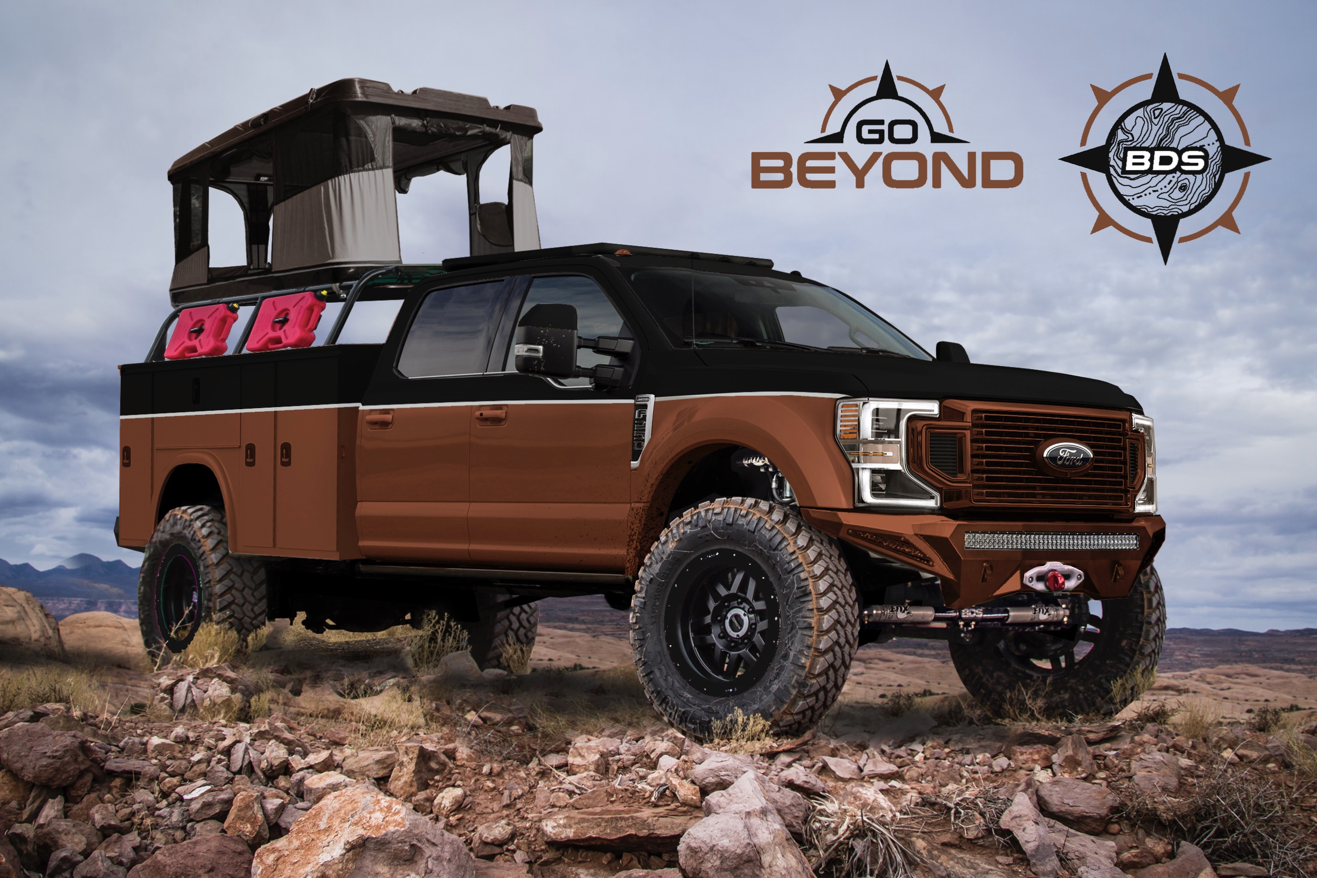 Ford Sema Builds Include Overland Rig Truck Camper Adventure