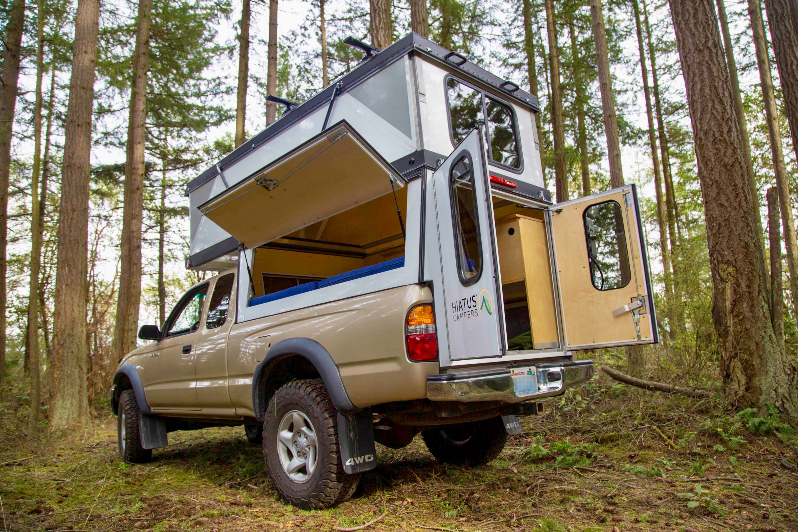 Hiatus Campers Releases Patented Hard Side Pop Up Truck Camper
