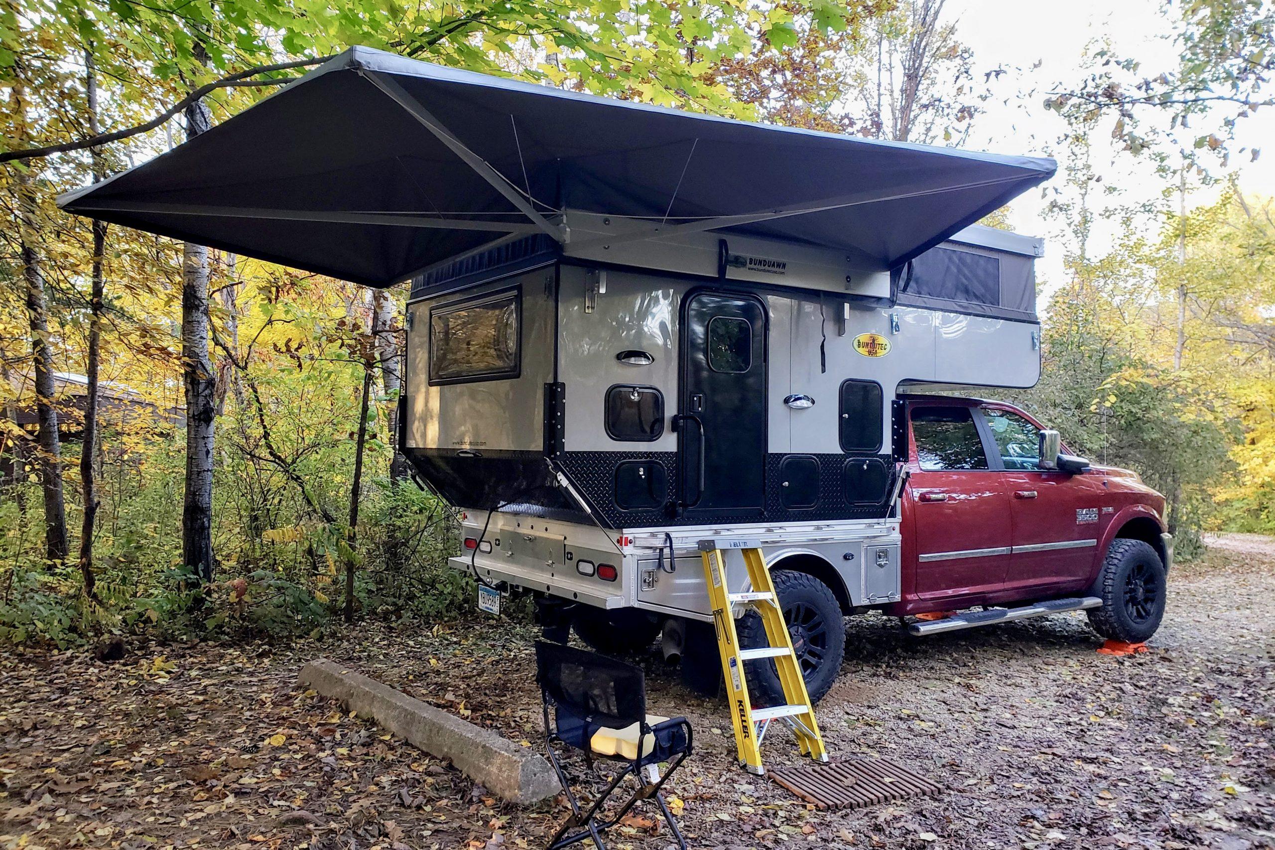 Review Of The Bundutec Odyssey Flatbed Truck Camper Truck Camper Adventure